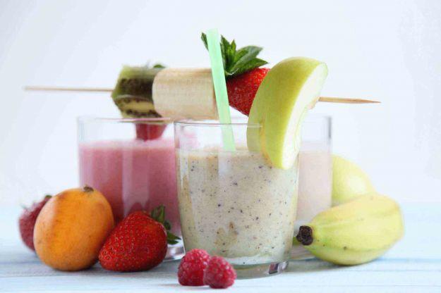 Frullato-snack-meno-di-100-calorie
